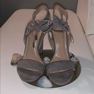 Charlotte Russe taupe heels